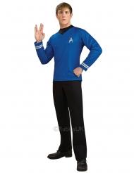 MR. Spock- Star Trek™-Lizenzkostüm für Herren blau-silber