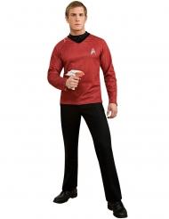 Scotty™-Star Trek Lizenzkostüm für Herren rot-schwarz