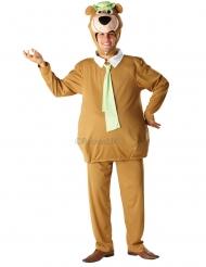 Yogi Bär™-Kostüm für Erwachsene Lizenz braun