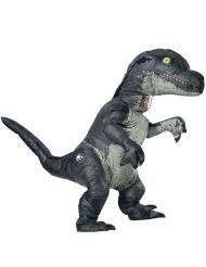 Dinosaurier-Kostüm Jurassic World™- Velociraptor für Erwachsene grau
