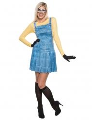Minions™-Damenkostüm Lizenz Karneval bunt