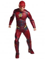Flash™-Justice League Lizenzkostüm für Erwachsene rot-schwarz-gelb
