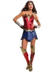 Wonder Woman™-Damenkostüm Justice League rot-blau-gold