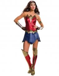 Wonder Woman™-Damenkostüm Justice League rot-blau-gold