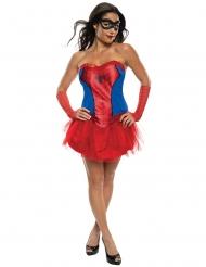 Spider-Girl™-Damenkostüm Marvel-Lizenz rot-blau