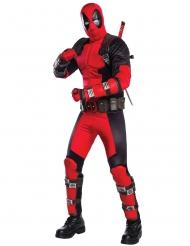 Deadpool™-Superheldenkostüm für Erwachsene Lizenz schwarz-rot