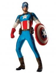Captain America™ Lizenzkostuem für Herren Marvel™ blau-rot-weiss