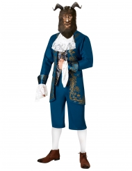 Das Biest™-Lizenzkostüm für Herren Disney™-Märchenkostüm blau