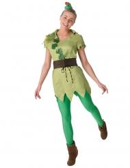 Peter Pan™-Damenkostüm Disney-Lizenz grün-braun