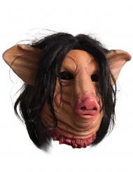 Schweine-Maske aus Saw™ für Erwachsene Halloween