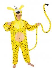 Marsupilami™ Tierkostüm für Erwachsene gelb-schwarz