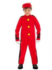 Spirou™-Lizenzkostüm für Kinder Comicfigur rot-gelb