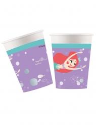 Ariel™-Pappbecher Disney 8 Stück bunt 260ml