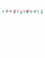 Arielle die Meerjungfrau™-Girlande Raumdekoration bunt 108x18cm