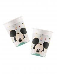 Mickey Maus™-Pappbecher Disney 8 Stück 260ml