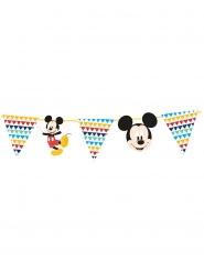 Mickey Maus™-Wimpel Girlande Kindergeburtstag Raumdeko bunt 100x18cm