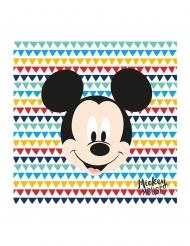 Mickey Maus™-Papierservietten Disney™ 20 Stück bunt 33x33cm