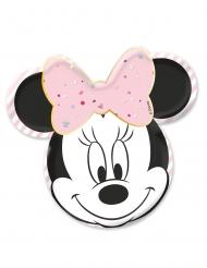 Minnie Maus™ Premium Pappteller Kindergeburtstag 4 Stück bunt 31x32cm