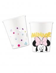 Minnie Maus™-Pappbecher Kindergeburtstag Disney™ 8 Stück bunt 260ml