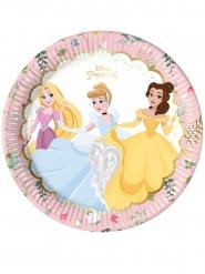 Disney™-Prinzessinnen Pappteller 8 Stück bunt 23cm