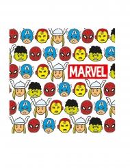 Avengers™-Servietten Superhelden 20 Stück bunt 33x33cm