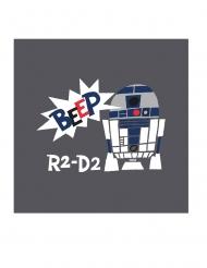 Star Wars™-Servietten R2-D2 20 Stück bunt 33x33cm