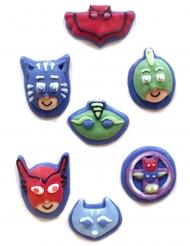 PJ Masks™-Kuchen-Figuren aus Zucker 7 Stück bunt 11g