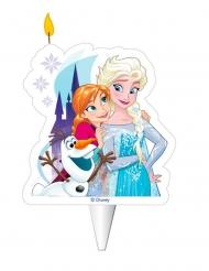 Die Eiskönigin™-Geburtstagskerze für Kinder Zubehör bunt 8cm