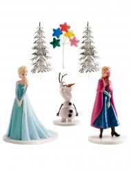 Frozen™-Kuchendeko 6-teilig Geburtstags-Überraschung bunt 8,5cm