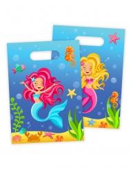 Meerjungfrau-Taschen Geschenk-Idee 8 Stück bunt 18x30cm
