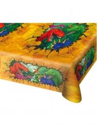 Tischdecke mit Dinosaurier Party-Zubehör bunt 130x180cm