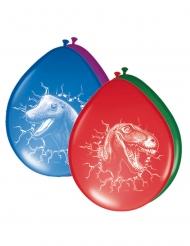 Dinosaurier-Ballons Raumdekoration 6 Stück bunt 30cm