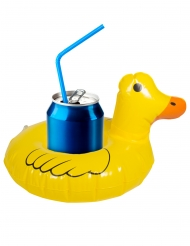 Getränkehalter Ente Pool-Zubehör Gartenparty gelb
