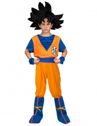 Son Goku™-Lizenzkostüm für Kinder Dragon Ball orange-blau
