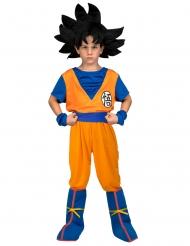 Son Goku™-Lizenzkostüm für Kinder Dragon Ball orange-blau