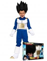 Vegeta™-Dragon Ball Kinderkostüm Lizenz-Verkleidung blau-weiss