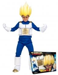 Super Saiyan Vegeta Dragon Ball™-Lizenzkostüm für Kinder blau-weiss-gold