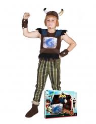 Crogar Zak Storm™-Kinderkostüm Wikinger bunt