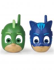 PJ Masks™ Walkie Talkie Spielzubehör für Kinder grün-blau