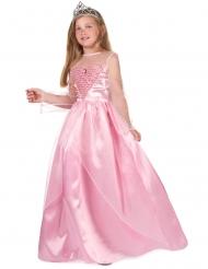 Märchenhaftes Prinzessinnen-Mädchenkostüm rosa