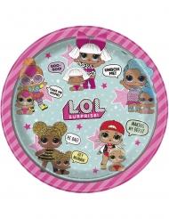 LOL Surprise™- Pappteller Kindergeburtstag 8 Stück bunt 23cm
