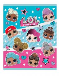 LOL Surprise™-Geschenktüten für Mädchen 8 Stück bunt 18x23cm