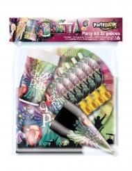 Crazy Party-Partyzubehör für 6 Personen 37-teilig bunt
