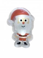 LED-Weihnachtsmann Geschenkidee bunt 10x7cm
