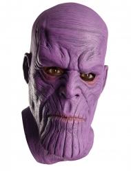 Thanos™-Latexmaske Marvel-Kostümzubehör für Erwachsene violett
