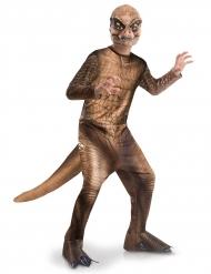 T-Rex Kinderkostüm von Jurassic World™ Lizenz-Verkleidung braun