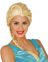 Eisprinzessin Damen-Perücke Kostümzubehör blond