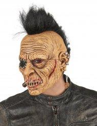 Zombie-Punk-Maske aus Latex für Erwachsene