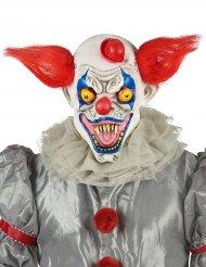Horror-Clown-Maske für Erwachsene aus Latex
