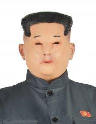 Diktatoren Maske Kim aus Latex für Erwachsene